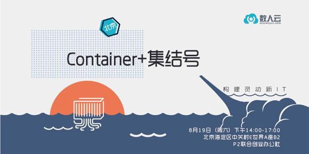 数人云Meetup|一起吹响Container+集结号